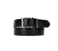 Leather Belt - Shiny Black