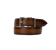 Exclusive Leather Belt - Deco Tan