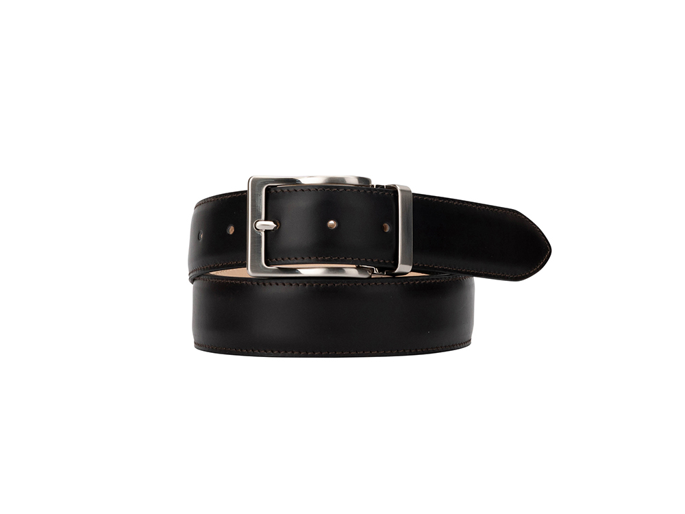 Leather Belt - Calf Coffee