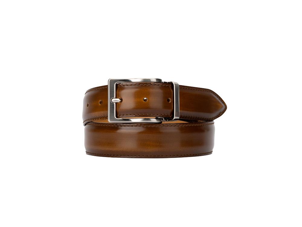 Leather Belt - Polished Tan