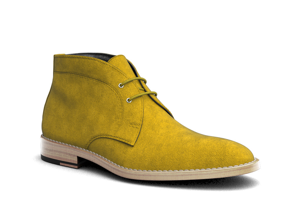 sun suede leather men desert boot