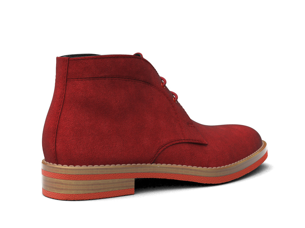 red suede leather men desert boot dis. Black Bedroom Furniture Sets. Home Design Ideas