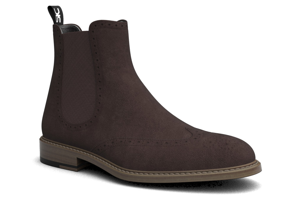 beown suede leather men chelsea boot