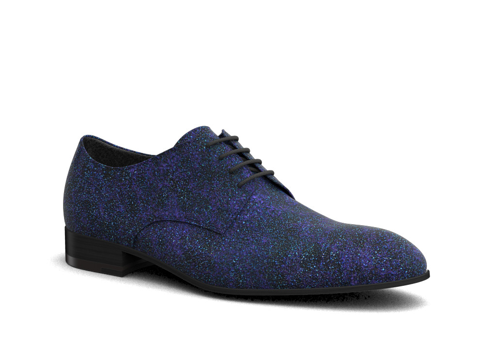 blue stardust men derby shoes