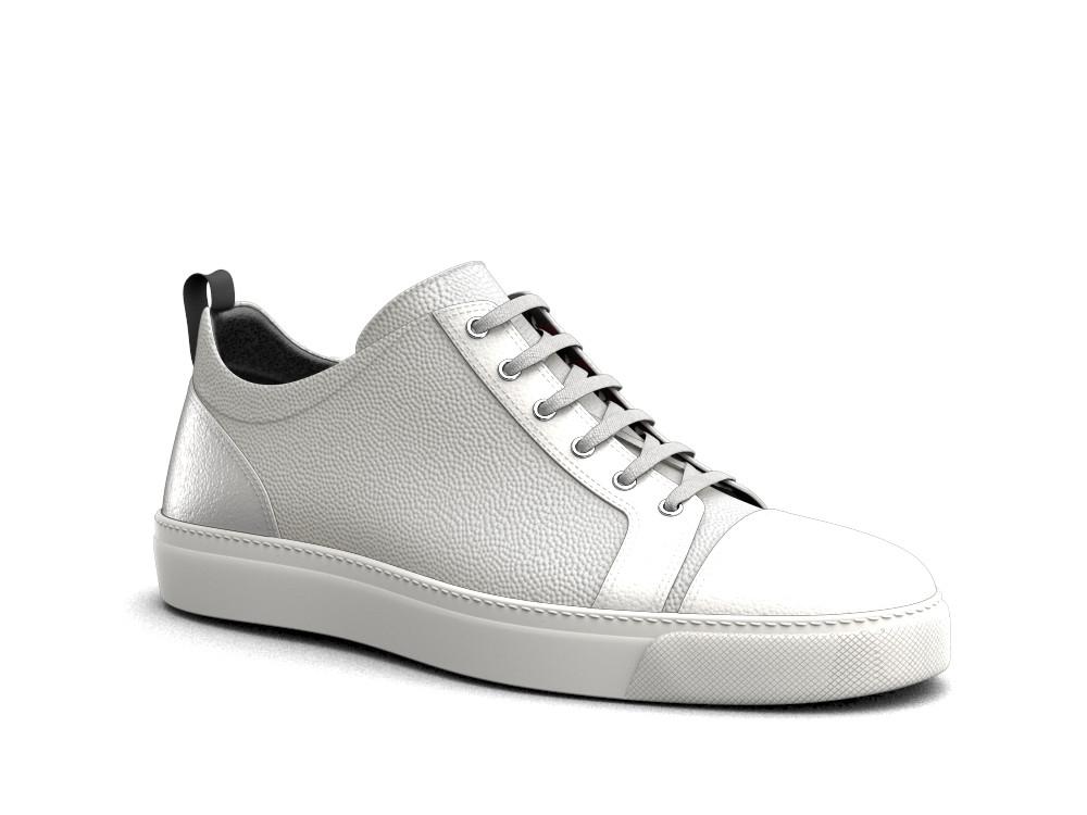 sneakers bassa pelle chicco bianca