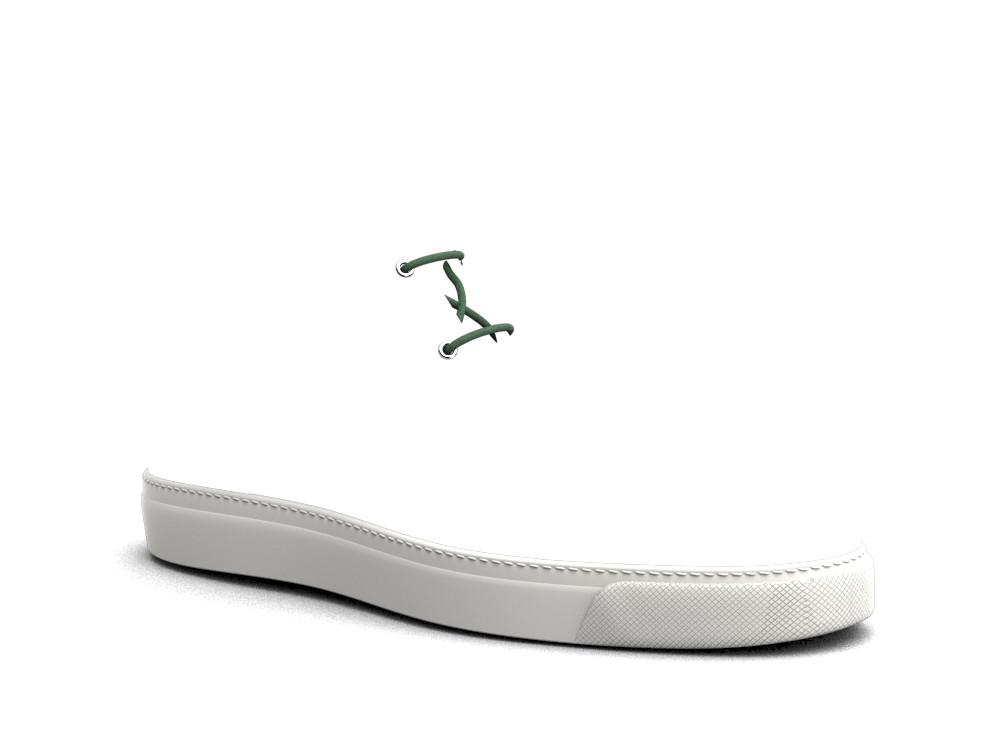 sneakers boot pelle deco oliva