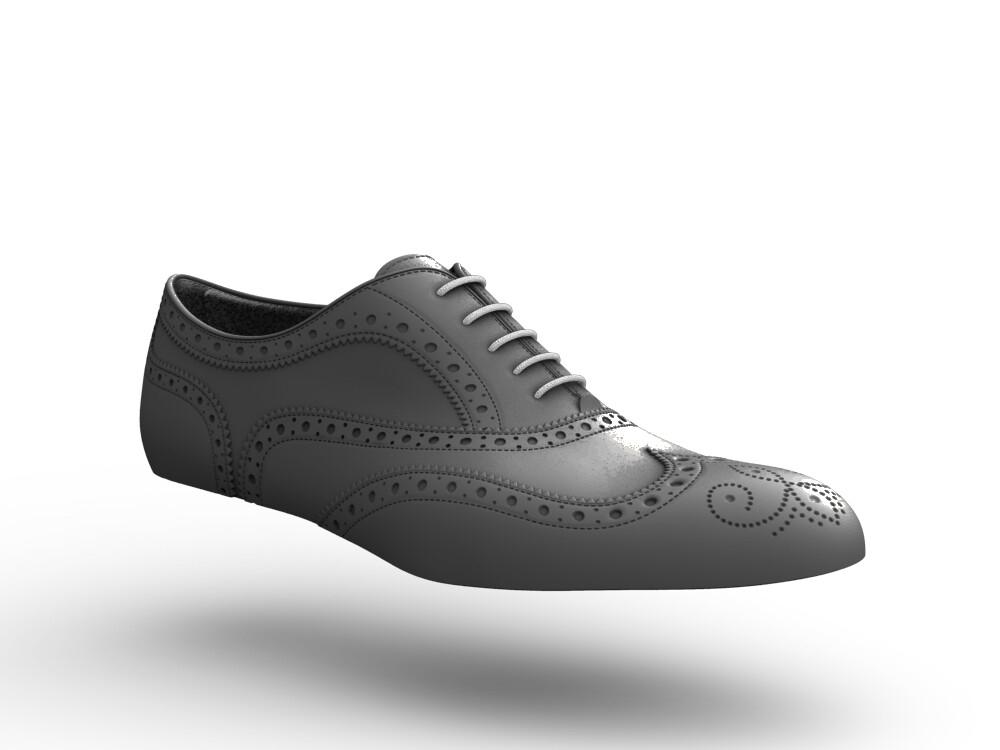 scarpe francesina donna pelle laminato bianco