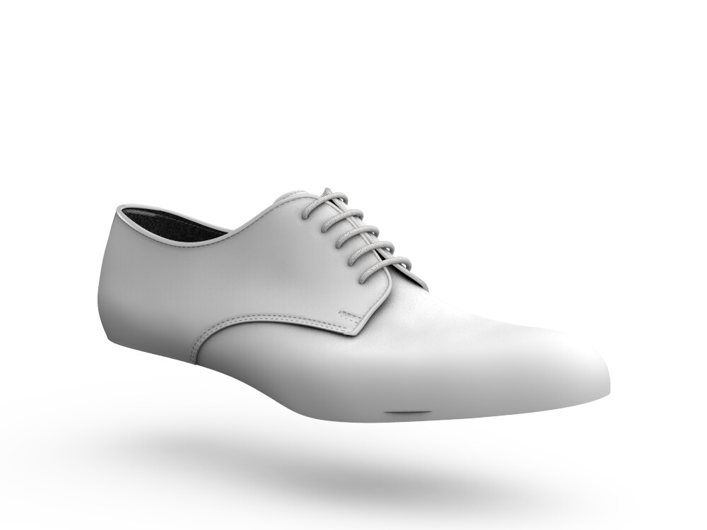 white laminated leather woman derby