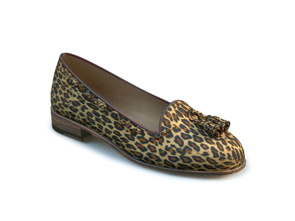 woman tassel loafers