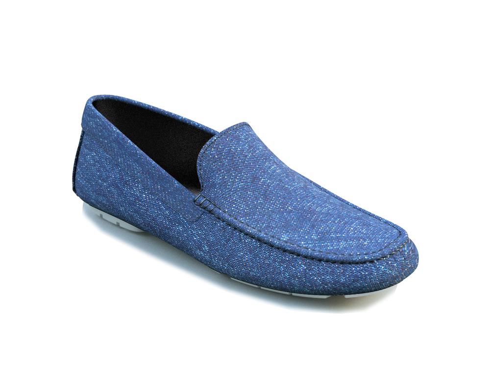 scarpe driver denim chiaro