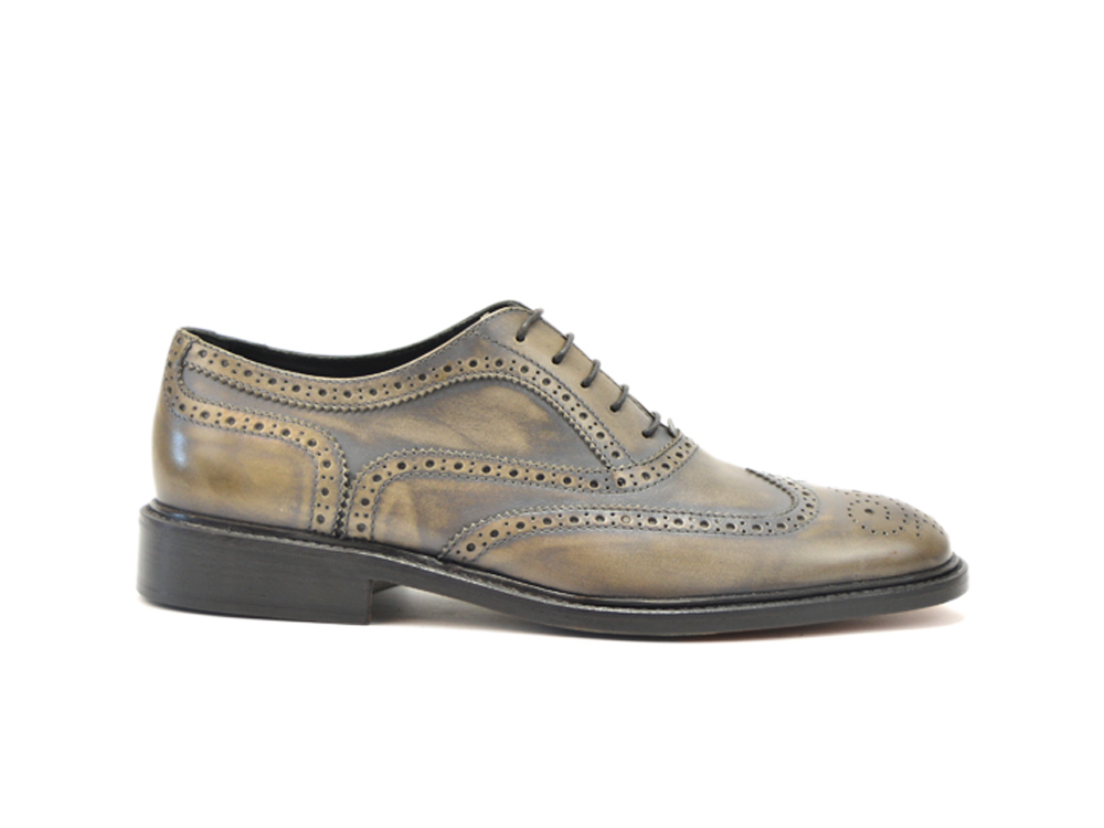 deco grey men oxford