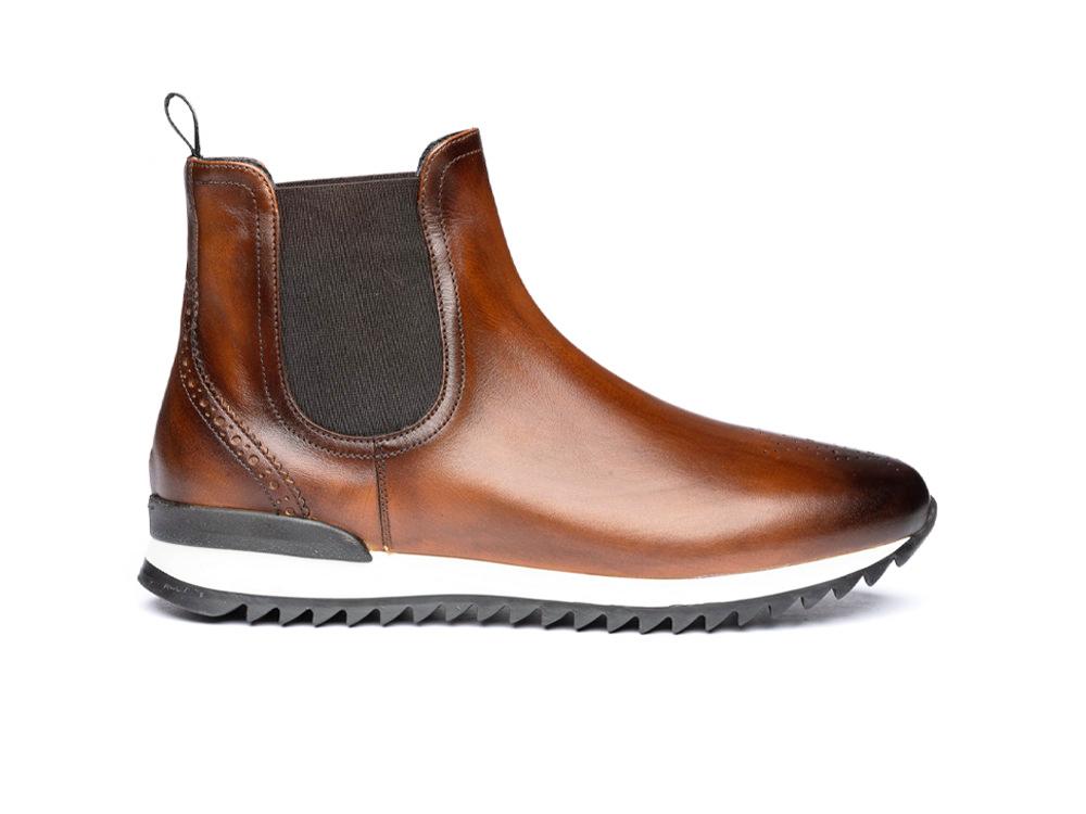 chelsea boot running deco dark brown