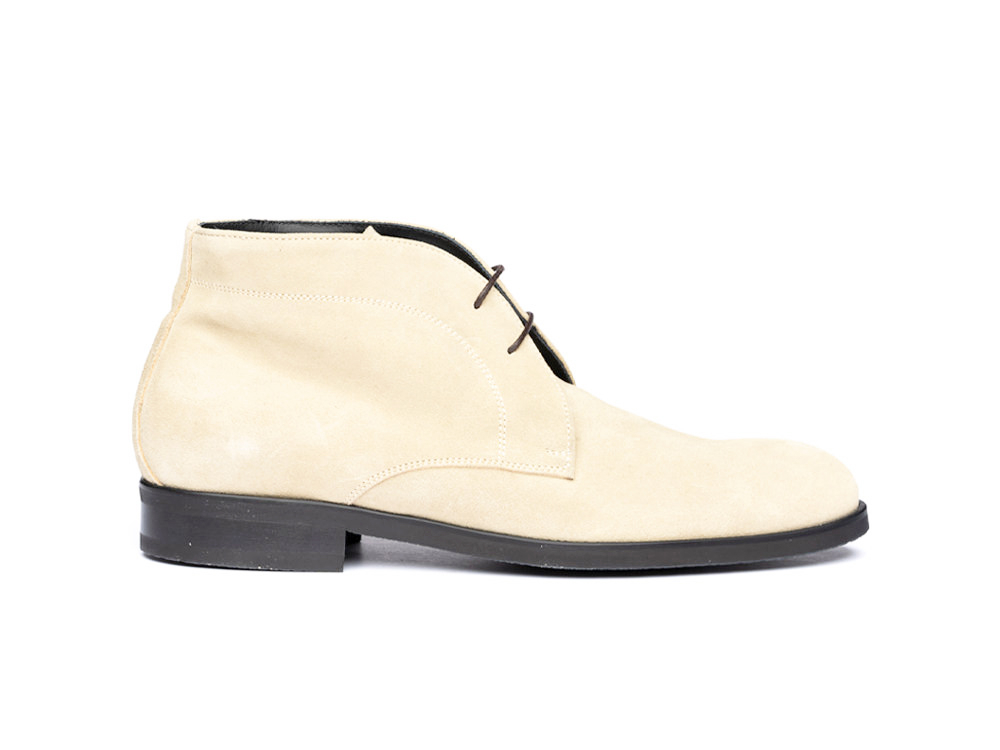 sand suede leather men desert boot