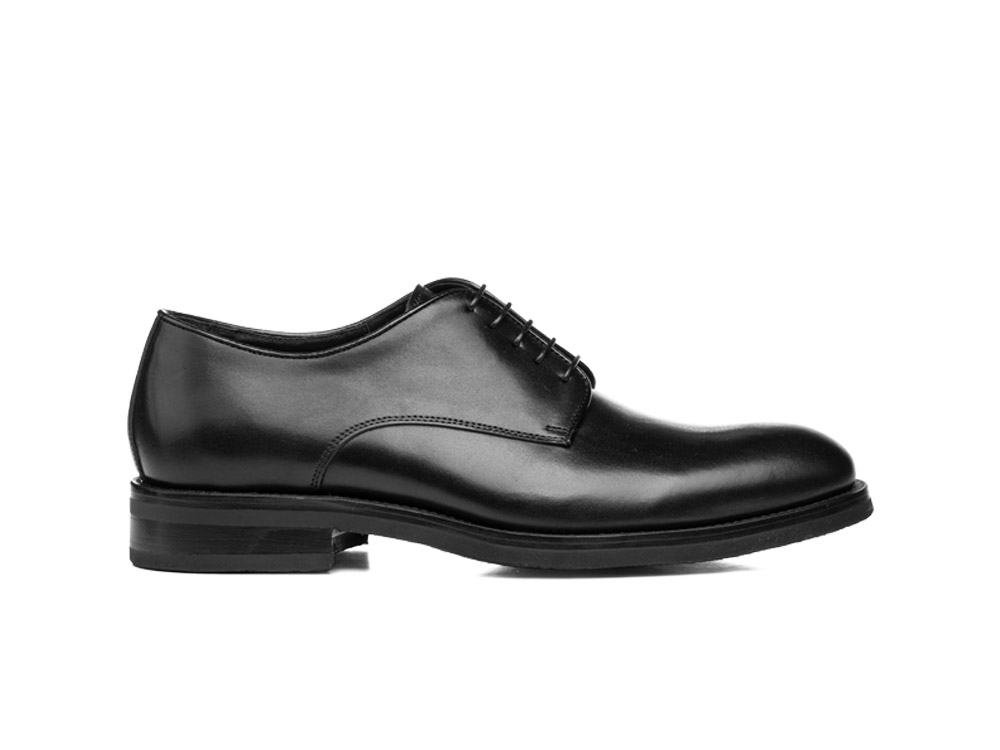 man calf black derby