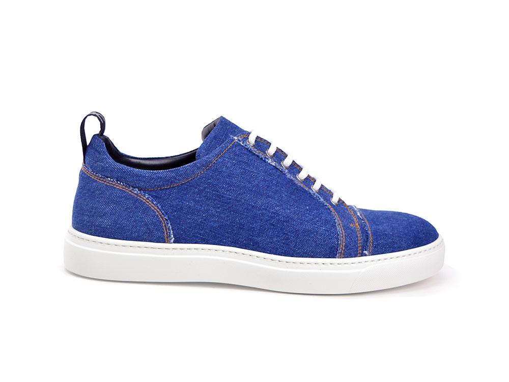 sneakers bassa denim light