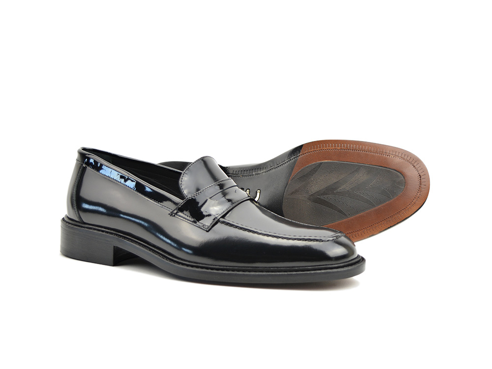 b5abeedcd8f shiny black penny loafer. Uliassi  Uliassi  Uliassi  Uliassi ...