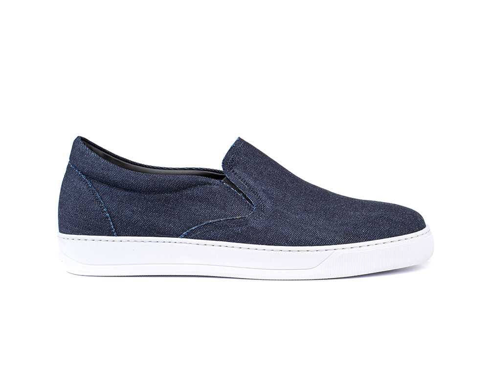 sneakers mocassino denim