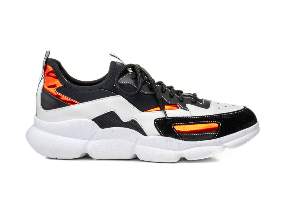 sock sneakers calf white suede black plump vibram