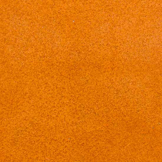 suede orange