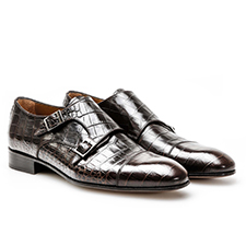 D'Annunzio - Crocodile Leather Moccasin