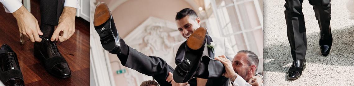 Custom groom shoes made to measure