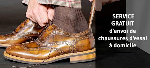 Service de chaussuresgratuit